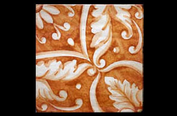 deferranti-italianate-leonarda-saffron-and-white-handpainted-terracotta-tile