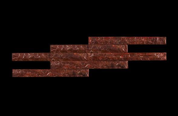 deferranti-metal-tiles-rough-faced-metal-in-red-ochre