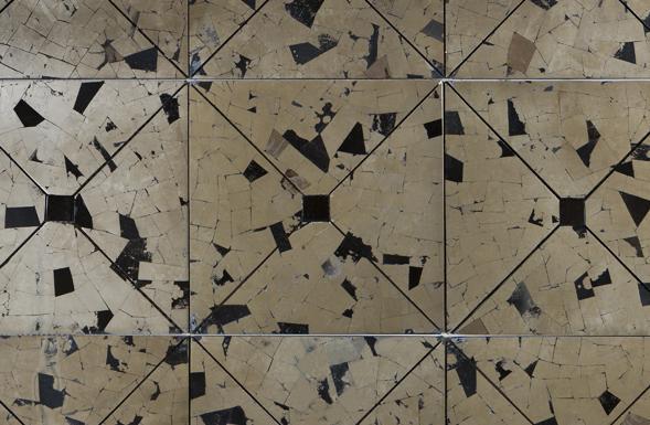 deferranti-pyrites-fools-gold-silver-flecked-geometric