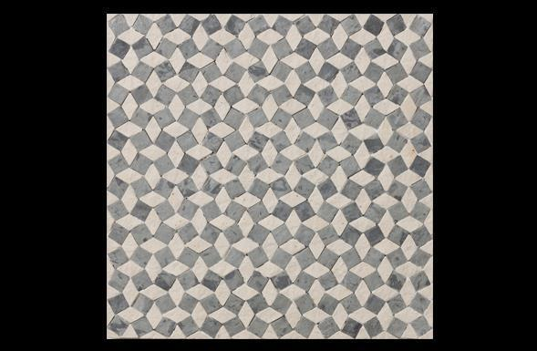 deferranti-stone-mosaics-diagonal-squares-in-blue-grey